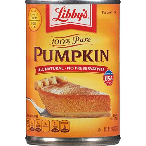 Libby's 100% Pure Pumpkin, 15 Ounce]()