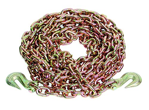 Great Deal! S-Line Ancra 45881-11-20-SP Transport Chain with Grab Hooks, Grade 70, 3/8-Inch by 20-Fe...
