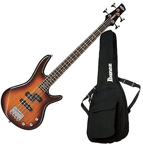 Ibanez GSRM20BS Mikro 4 String Brown Sunburst Bass with Gig Bag (Bass Gig Bag Ibanez)
