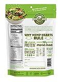 Manitoba Harvest Organic Hemp Hearts Raw Shelled Hemp Seeds, 12oz; with 10g protein& Omegas per Serving, Non-GMO, Gluten Free