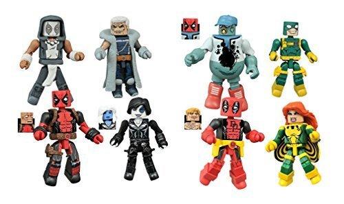 DIAMOND SELECT TOYS Marvel Minimates Series 65 Deadpool Set -