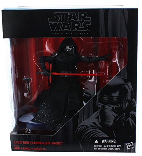 Star Wars Black Series 6 Kylo Ren Starkiller Base 2015 Exclusive Version