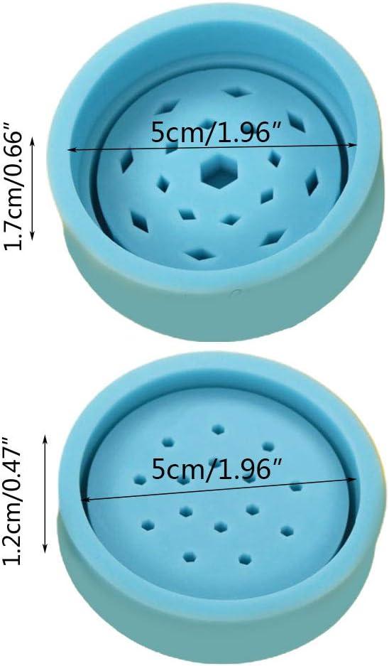 erbe aromatiche Stampo in silicone per tabacco e grinder a foglia