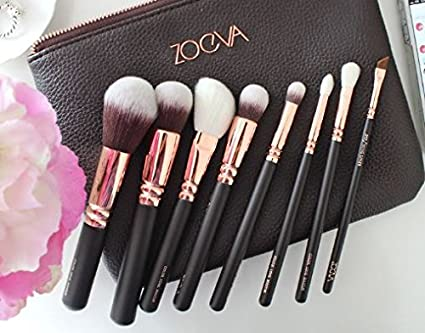 33c01dffbc2 Image Unavailable. Image not available for. Color: Brushes Makeup Cosmetics  Tool Rose Golden Luxury Kit Set Real Techniques Eye ...