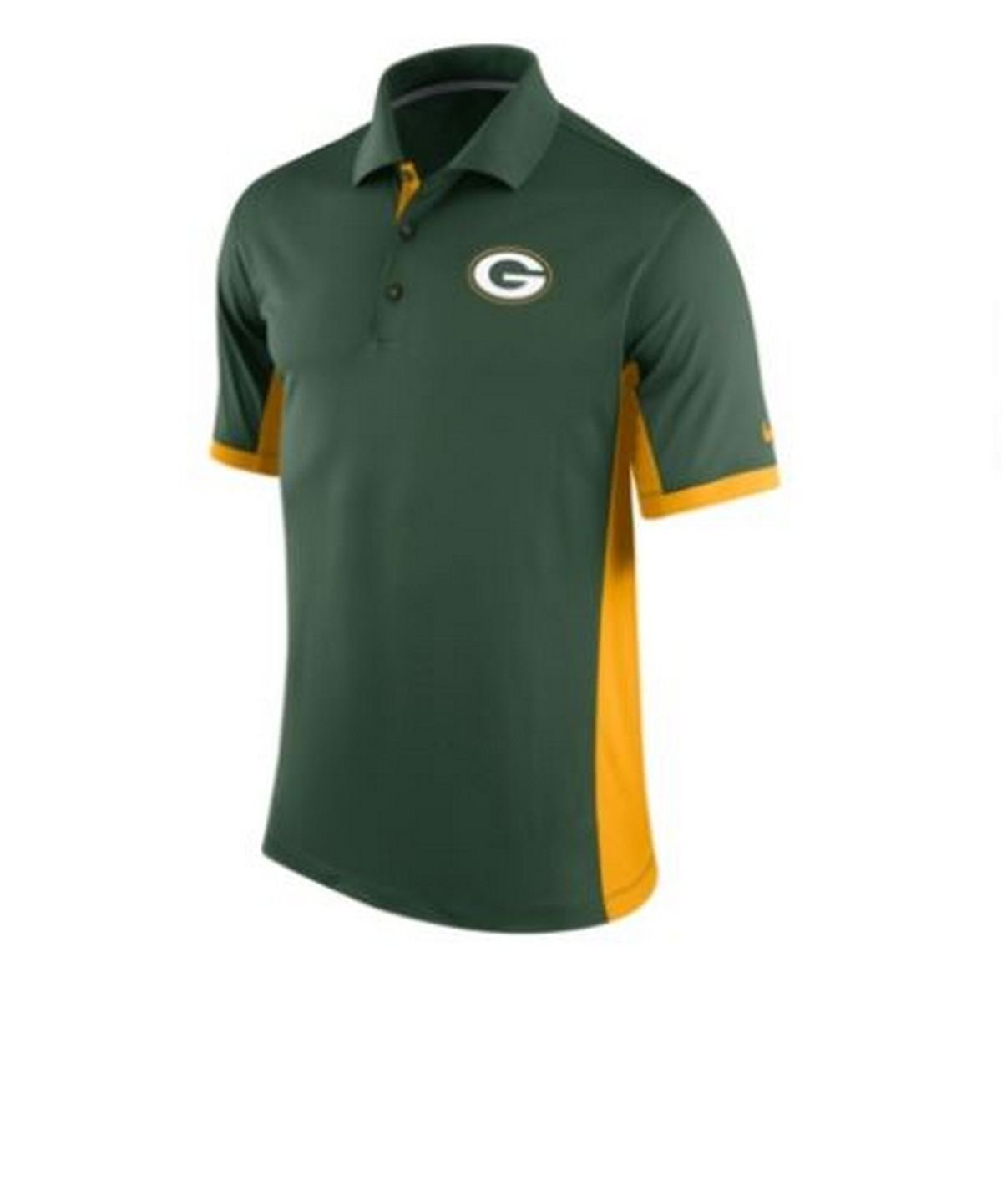 Nwt Nike Mens Green Bay Packers Dri Fit Team Issue Polo Sz S 657557