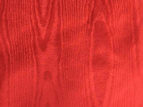 "Pack of 1, Red Moire Gift Wrap 7.5"" x 100"