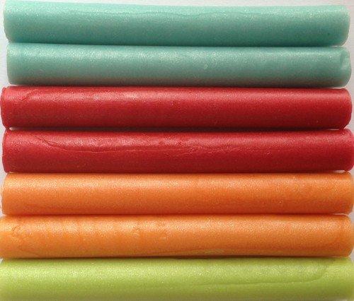Caribbean Pearl assortment Flexible Glue Gun Sealing Wax - 7 Sticks by Seasons Creations