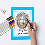 Swear Word Coloring Book: Stress Relieving and