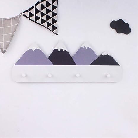AGWa Perchero creativo estilo nórdico montado en la pared ...