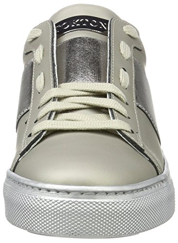 Donna Argento Sneaker Scarpe Ginnastica da Stokton Argento Basse Cdf SRYqHXwn