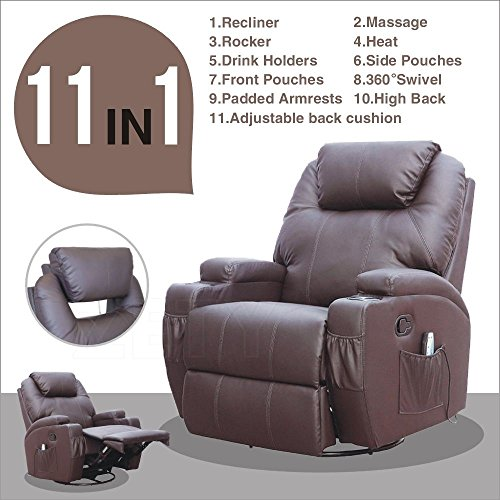 Swivel Rocker Club Chair - 4