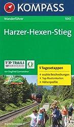 Harzer-Hexen-Stieg: Wanderführer mit Toproutenkarten und Höhenprofilen
