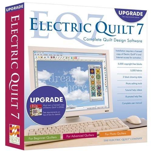 Amazon.com: Electric Quilt 7 EQ7 Upgrade Quilting Design Software ... : eq7 quilting software - Adamdwight.com