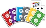 ACBL (American Contract Bridge) PLAYING CARDS - 1 Dozen Decks - Plastic Coated - Bridge Size