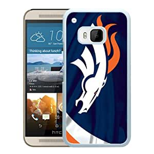 Grace Protactive Denver Broncos 3 White Case Cover for HTC ONE M9