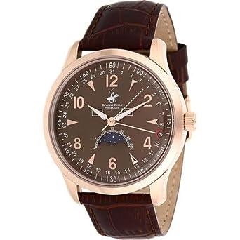 Nueva Beverly hils polo Club reloj para hombres BH109 - 09: Amazon ...