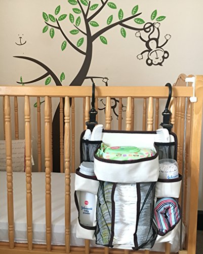 Diaper Caddy Organizer Multiple Hanging Options Nursery