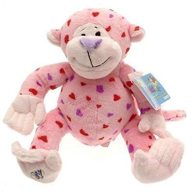 Webkinz Plush Stuffed Animal Love Monkey, valentine: Toys & Games