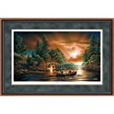 Evening Rendezvous Framed Limited Edition Print by Terry Redlin