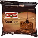 Britannia Bourbon Chocolate Flavoured Cream Biscuits