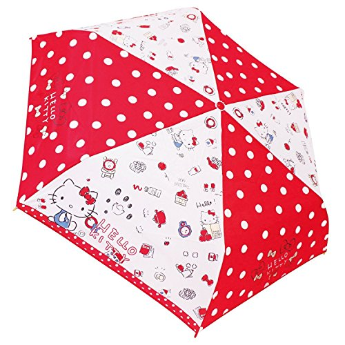J's Planning Sanrio Hello Kitty Folding Umbrella Kitty Lady 53cm