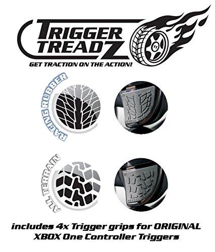 Snakebyte Trigger Treadz - Original 4-Pack for (Xbox One) - Anti Slip Trigger Rubbers - Finger Grips - Xbox One… 6