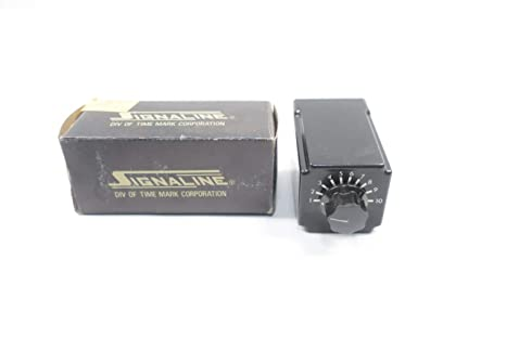 Signaline 332-120V-60S Single Shot Timer NEW Time Mark