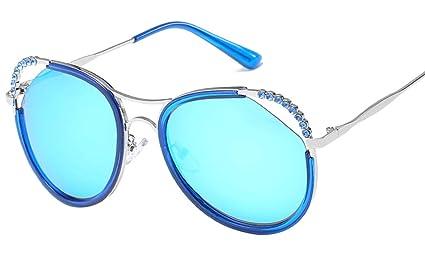 Jnday Gafas de sol marco de metal, para mujer, para ...