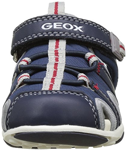Geox B Sandal Agasim Boy B, Botines de Senderismo para Bebés Azul (NAVY/GREYC0661)
