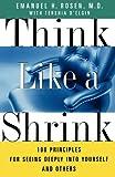Think Like a Shrink, Emmanuel Rosen, 068486603X