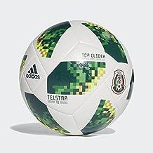 Adidas Balón Mundial Rusia 2018 Mexico, color Blanco/Verde, 5