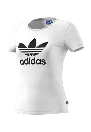 45d55f8477 Adidas Originals Trefoil Sweat-shirt à Capuche Femme: Amazon.fr ...