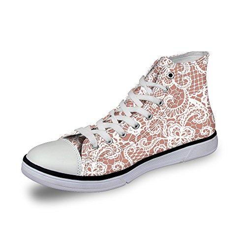ThiKin 3Dプリント スニーカー キャンバス 帆布 カジュアル 靴 シューズ 動物柄 個性的 軽量 通気 おしゃれ ファッション 通勤 通学 プレゼント