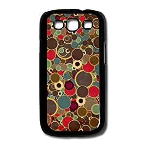 Samsung Galaxy S3/I9300 Cases Colorful Round Design Hard Back Cover Proctector Desgined By RRG2G