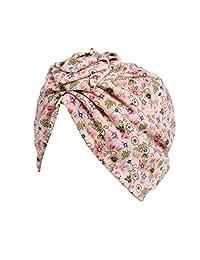 Efitty Children Girls Boho Hat Turban Head Wrap Cap