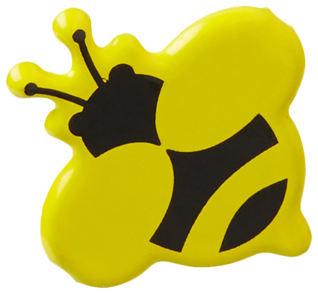 Eyelet Outlet Brads, Bumble Bee, 12-Pack QBRD-663