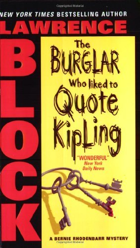 book cover of The Burglar Who Liked to Quote Kipling