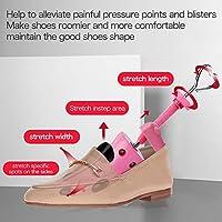 2-way Adjustable Wooden High Heel Shoe Stretcher Expander Shoes Support
