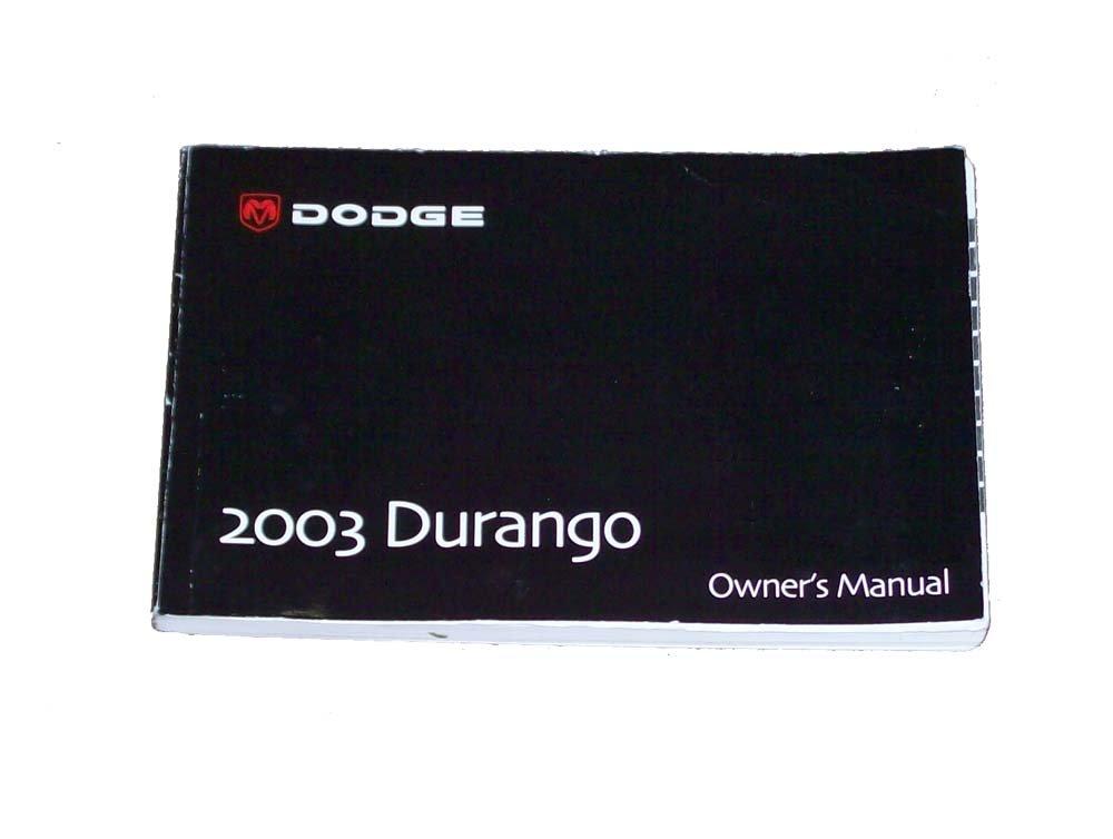 2003 dodge durango owner s manual amazon com books rh amazon com 2000 durango owners manual 2000 durango owners manual pdf