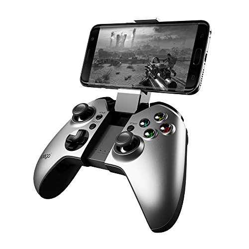 - iPega 9062S Rechargeable Bluetooth Game Controller Work on Android Devices/Windows PC(Vibration)