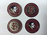 Florida State Seminoles Golf Ball Markers 4-Pack