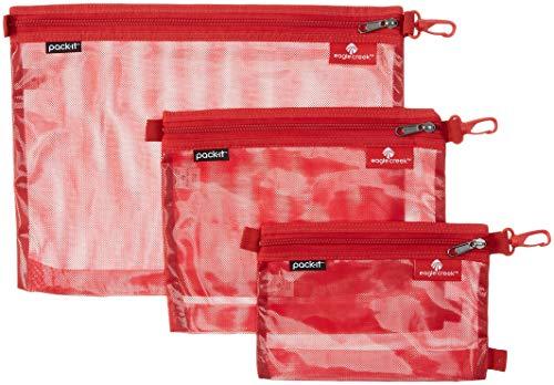 Eagle Creek Pack-it Original Sac Set, RED FIRE
