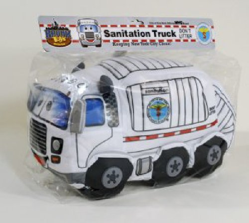 Bronx Toys DSNY Sanitation Truck Plush - Bronx Stores