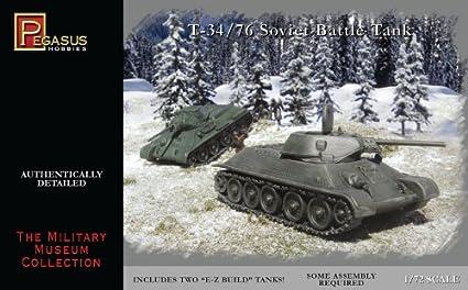 Russian T-34 Tanks Miniature 20mm WWII Pegasus