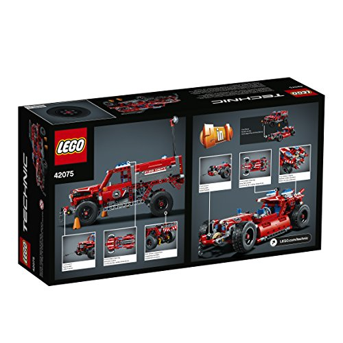 51cj2xtCGGL - LEGO Technic First Responder 42075 Building Kit (513 Pieces)