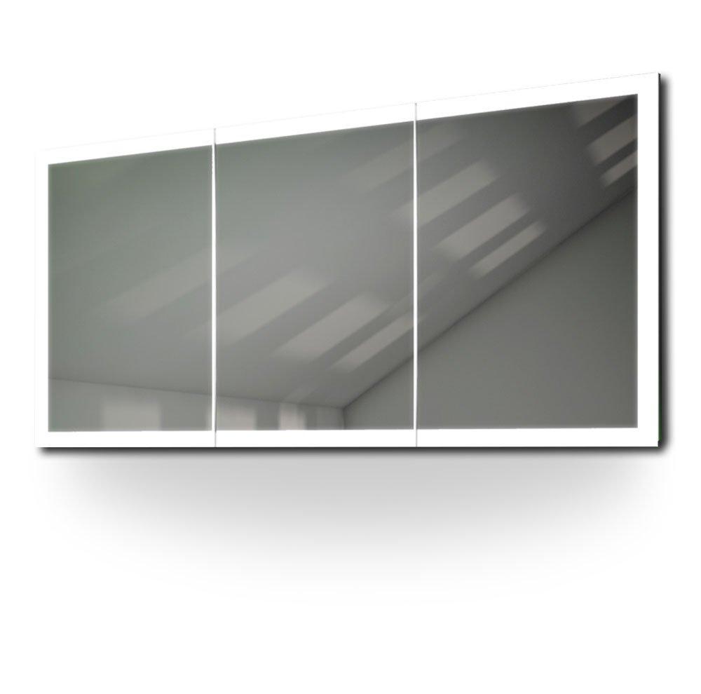 Yalizni Edge Bathroom Cabinet With Demister, Sensor & Shaver k467