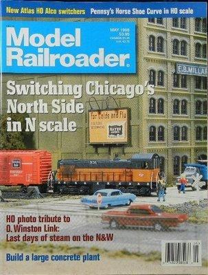 Model Railroader Magazine May 1998 ()