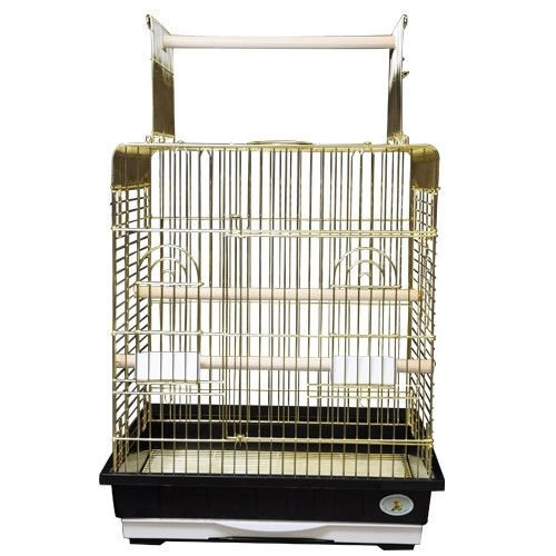 (Kings Cages ES 2521 P bird cage toys toy Small Conures Cockatiels Amazons (Brass))