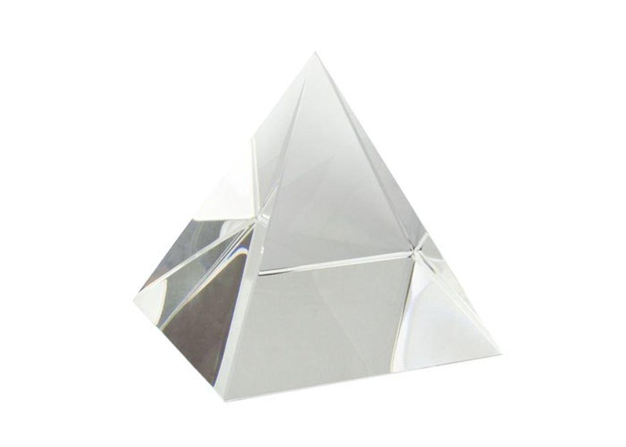 Ten Fermacarte a foma di Piramide in Vetro cod.EL35339 cm 8x8x8h by Varotto /& Co.