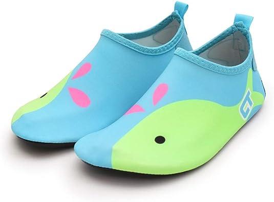 Kids Swim Aqua Socks Shoes Boy Girl Beach Swimming Pool Surf Water Shoes